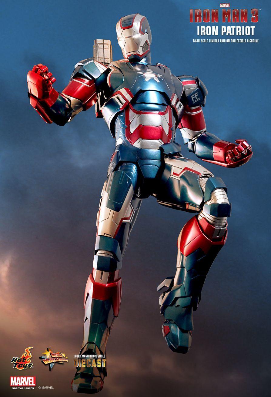 Iron Man 3 - Iron Patriot Limited Edition Series Diecast