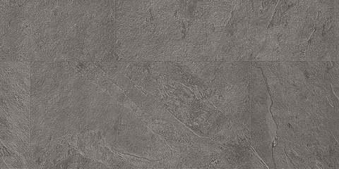 ПВХ плитка, кварц виниловый ламинат Quick Step Ambient Rigid Click Сланец серый 40034