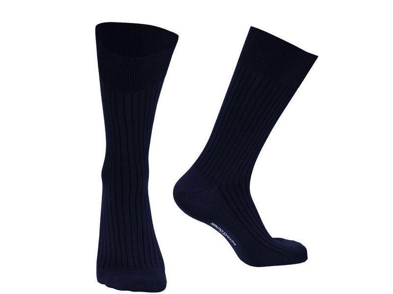 Мужские носки темно-синие Sergio Dallini SDS804-2