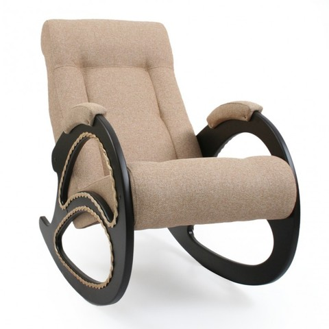 Кресло-качалка Комфорт Модель 4 мальта-03, бежевый