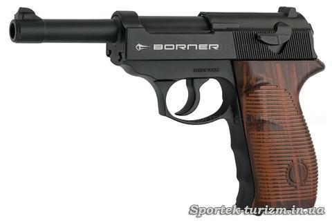 Пістолет пневматичний Borner C41 калібру 4,5 мм, газобалонний