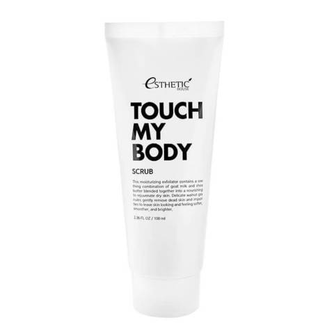 Скраб для тела Esthetic House  Touch my body Goat milk Body Scrub 100 мл