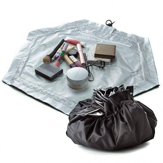 Органайзеры и кофры для одежды и обуви Органайзер-косметичка Beauty Cinch-Up 919d0bd0427cef8be740de72499b2412.jpg
