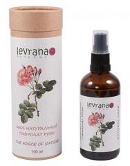Натуральная цветочная вода Розы 100% гидролат, 100ml ТМ Levrana