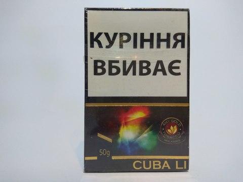 Табак для кальяна AMY Gold Cuba Li 50 гр