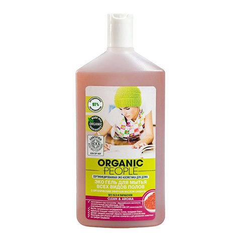ORGANIC People ЭКО гель для мытья всех видов полов 500 мл