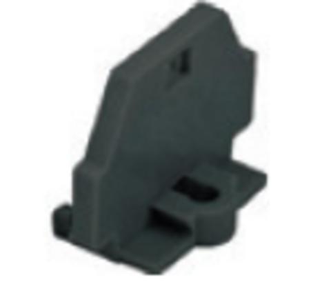 Торцевая пластина для клемм МКМ 2,5 мм2 универсальная (черная) TDM