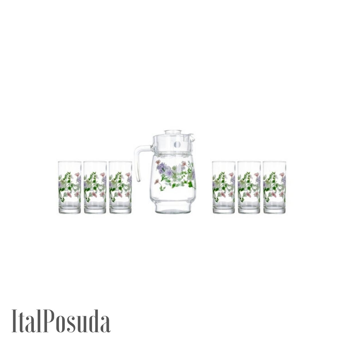 Набор питьевой Luminarc Mabelle (Мабель), 7 предметов N3679