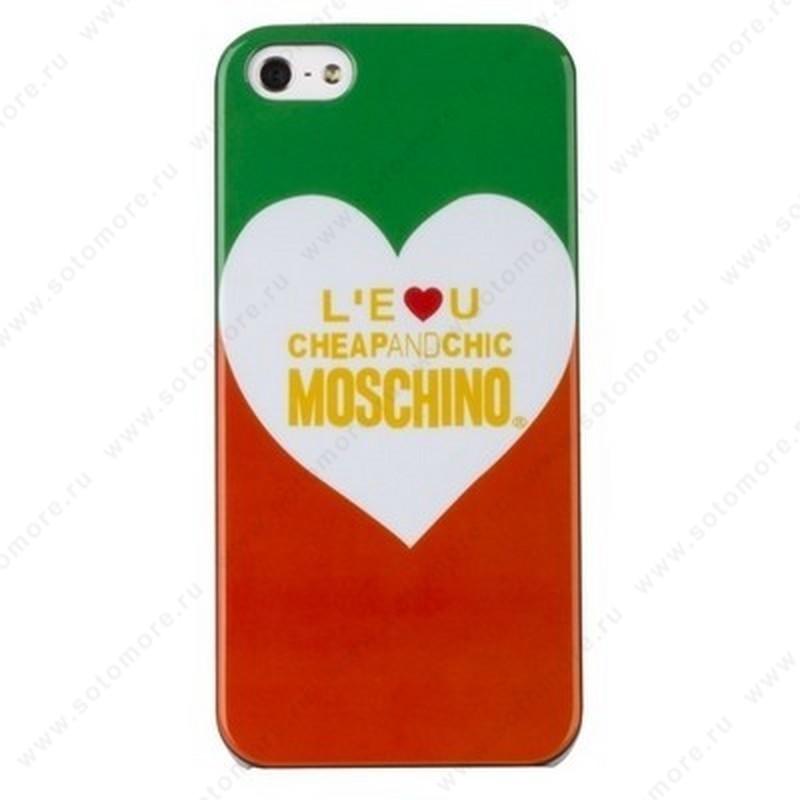 Накладка MOSCHINO для iPhone SE/ 5s/ 5C/ 5 вид 2