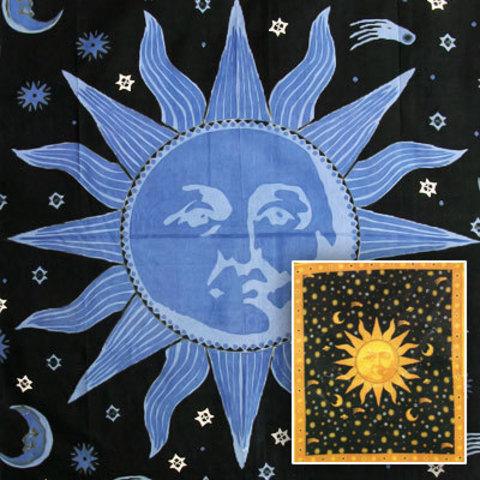 Покрывало Солнце односпальное