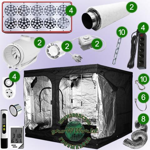 240х240х200 PROBOX  APOLLO 10х4 LED SUPERSILENT