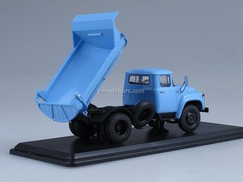 ZIL-MMZ-555 Tipper 1979 late blue 1:43 Start Scale Models (SSM)