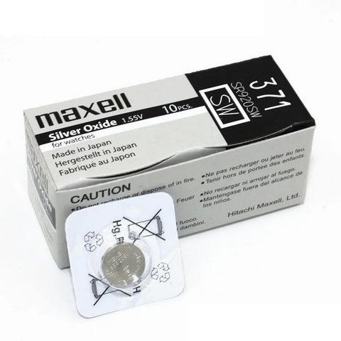 Батарейки часовые Maxell SR920SW-B1 (371) 1x10 Japan
