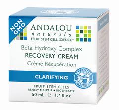 Ночной восстанавливающий крем для лица, Andalou Naturals