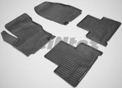 """Резиновые коврики """"Сетка"""" для Ford Galaxy (2006-н.в.)"""