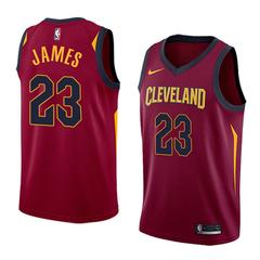 Баскетбольная майка NBA 'Cleveland/James 23'