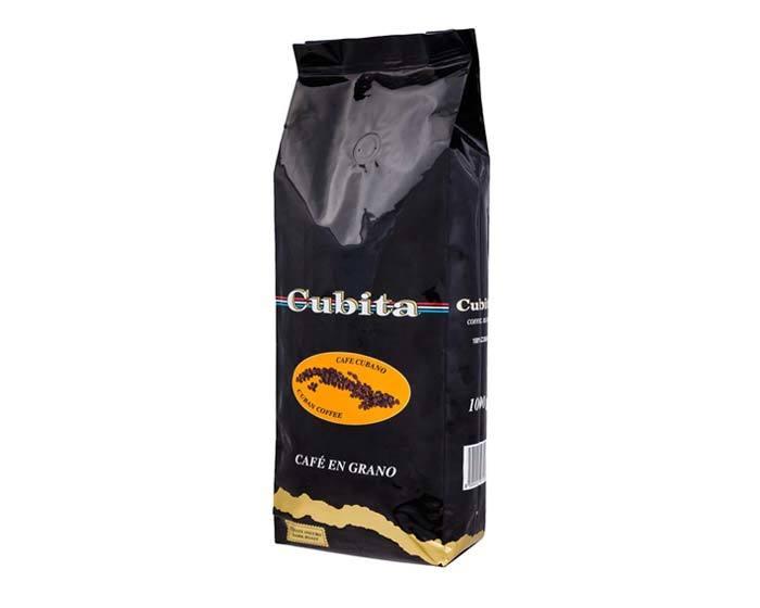 Кофе в зернах Cubita Cafe en Grano, 1 кг (Кубита)