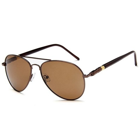 Солнцезащитные очки поляризационные 209002p Коричневый - фото