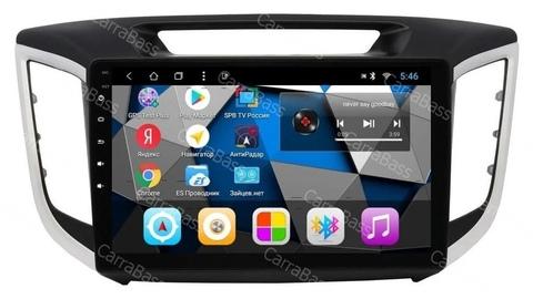 Магнитола  Hyundai Creta (2016+) Android 9.0 2/16GB IPS модель CB3024T3