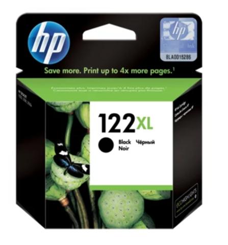 Оригинальный картридж струйный HP CH563HE 122XL черный