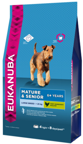 Сухой корм Eukanuba Mature&Senior Large Breed