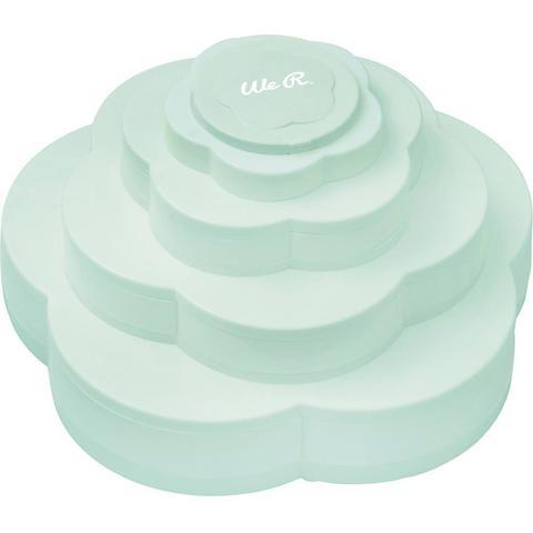 Органайзер Bloom Embellishment Storage Mint от We R Memory Keepers - Мятный цвет