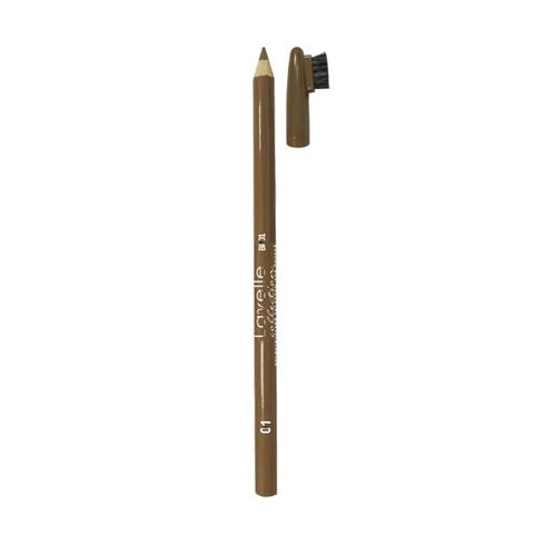 Лавелль Карандаш для бровей тон 01 светло-коричневый