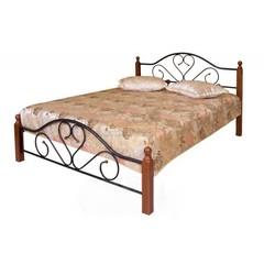 Кровать FD 802 200x120 (MK-1907-RO металл) Темная вишня