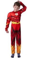 Флэш Супергерой костюм детский