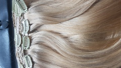 чудо-набор на заколках оттенок теплый блонд