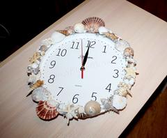 Мастер-класс. Часы в морском стиле.