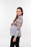 Водолазка для беременныхи кормящих 08105 серый