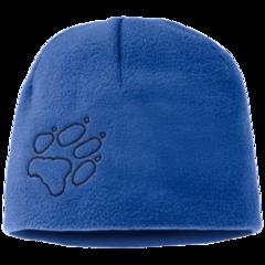Шапка флисовая детская Jack Wolfskin Fleece Cap Kids coastal blue