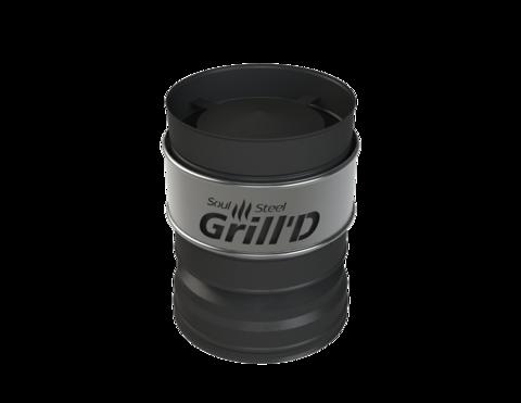 Grill'D Оголовок-дефлектор К, AISI 304