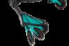 Трехколесный самокат-бабочка тридер Razor DeltaWing бирюзовый