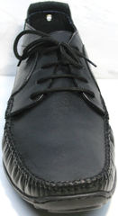 Мужские мокасины кожаные Ikoc 112-1Black