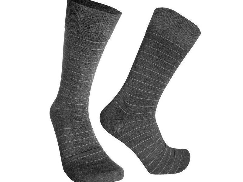 Мужские носки серые Sergio Dallini SDS802-3