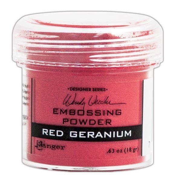 Пудра для эмбоссинга Ranger Ink- RED GERANIUM
