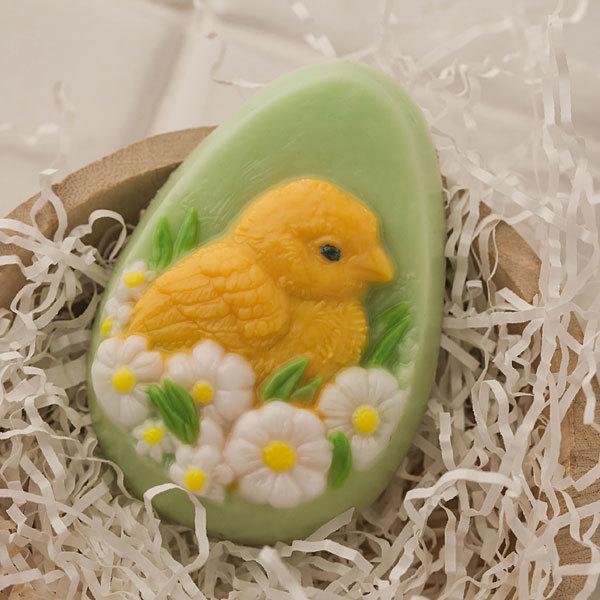 Пластиковая форма для мыла Яйцо/Цыпленок