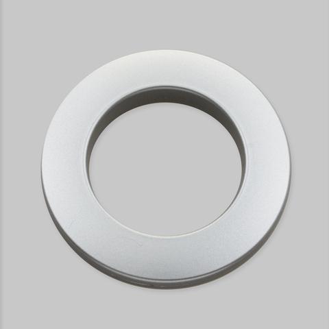 Люверсы для штор. Серебро матовое. D-35 мм.