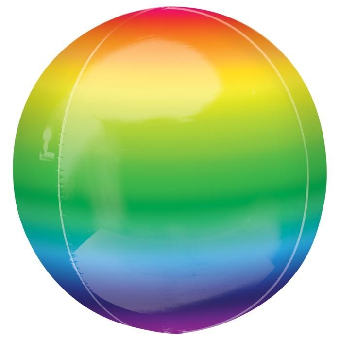 3D Шары Шар 3D сфера Металлик Радуга an-2877701.jpg