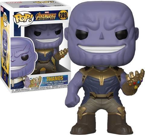 Marvel: Avengers Infinity War - Thanos Funko Pop! Vinyl Figure || Танос
