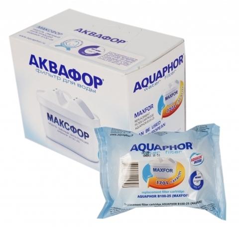 Модуль сменный фильтрующий Аквафор В100-25 (Максфор)(компл. 2шт), арт.и3022