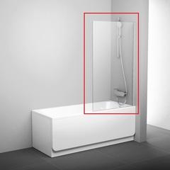 Шторка на борт ванны распашная 80х140 см Ravak PVS1 80 79840U00Z1 фото