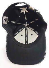 Черная кепка с длинным козырьком Adidas BC-1133WB