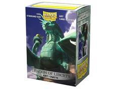 """Dragon Shield - Матовые протекторы """"Dragon of Liberty"""" (100 штук)"""