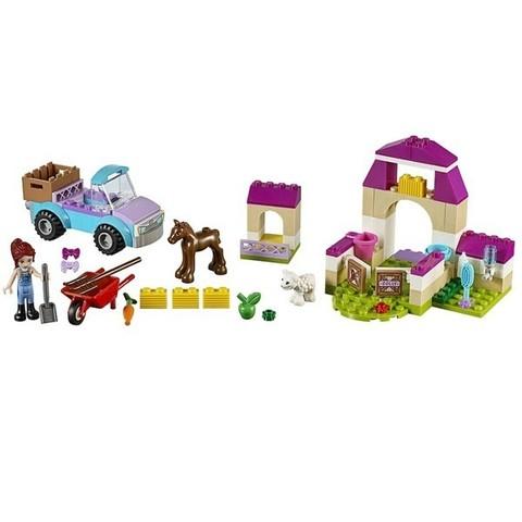LEGO Juniors: Чемоданчик «Ферма Мии» 10746 — Mia's Farm Suitcase — Лего Джуниорс Подростки