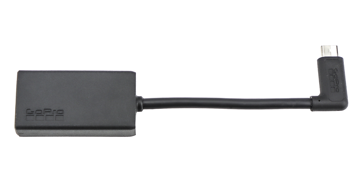 Адаптер для микрофона GoPro 3.5mm Mic Adapter внешний вид