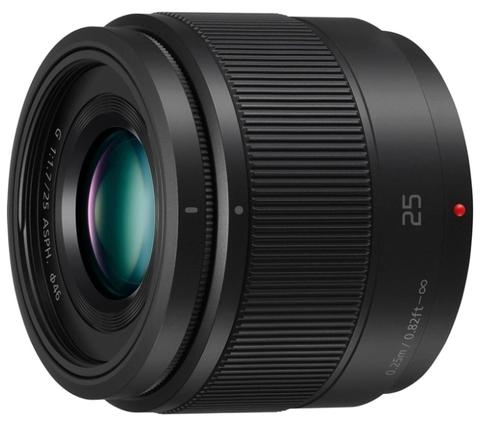 Объектив Panasonic Lumix G 25mm f/1.7 ASPH
