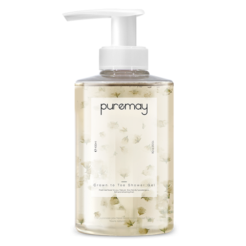 Гель для душа Puremay Crown To Toe Shower Gel Gypsophila 400ml